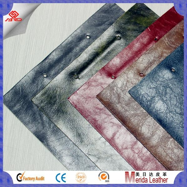 Guangzhou cheap high quality pvc artificial leather stocklot for sofa 1