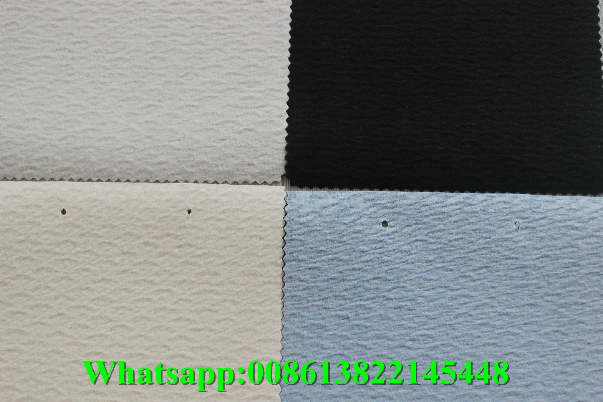 Wholesale high gloss pvc artificial embossed leather for ladybags and l   age 2