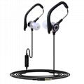 Hot sale 3.5mm plug ear hook earbuds