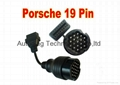 19pin to 16 Pin OBD2 Cable for Porsche
