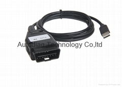FIAT Km Tool Via OBD2 Diagnostic Cable