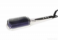 2016 New Design MCH Heater Tourmaline Ceramic LCD Double Anion Spray Hair Straig