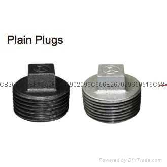 建支廠家供應代碼291無邊管堵鍍鋅件、黑件 1