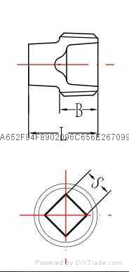 建支廠家供應代碼291無邊管堵鍍鋅件、黑件 3