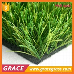 C shape field green Futsal artificial turf