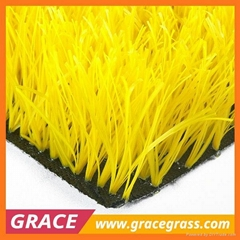 Professional artificial lawn woven for soccer grass