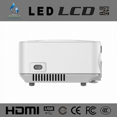 New Arrival SINO-20 Home Theater 1500 lumens HDMI Mini LCD led portable pico pro