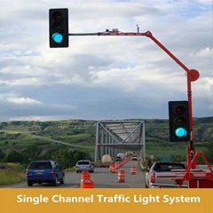 CE Approved Tenet Single Channel Traffic Light System For Single Access Parking