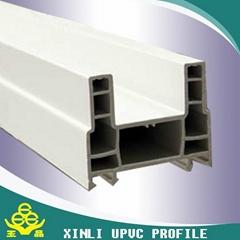 plastic building materias  high quality pvc/upvc profile