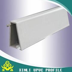 Plastic extrusion upvc profile manufacture