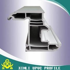 plastic building materials  upvc profile for window and door