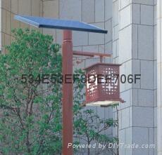 廣東路燈廠家直銷3米太陽能庭院燈