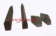 White Iron Sugar Cane Composite Wear Knife Edges