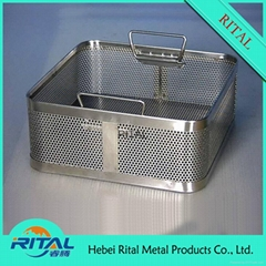 Sterilization Stainless Steel Wire Mesh Basket