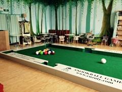 2016 new snookball games,snookball table,kicking billiard