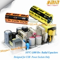 High stability GP aluminum electrolytic capacitor for portable USB chargers 4