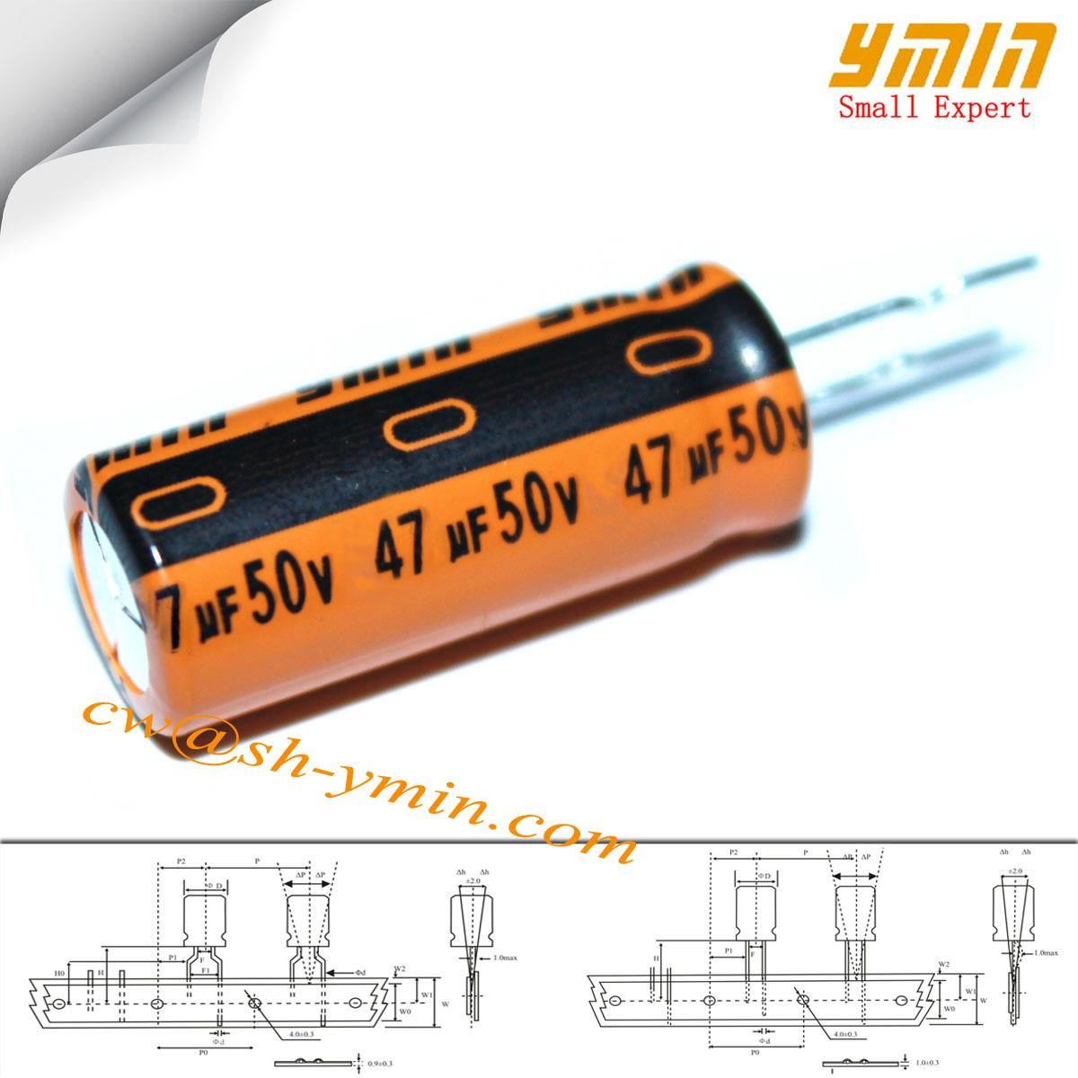 LK Radial lead aluminum electrolytic capacitor 6000 to 8000hours high frequency  1