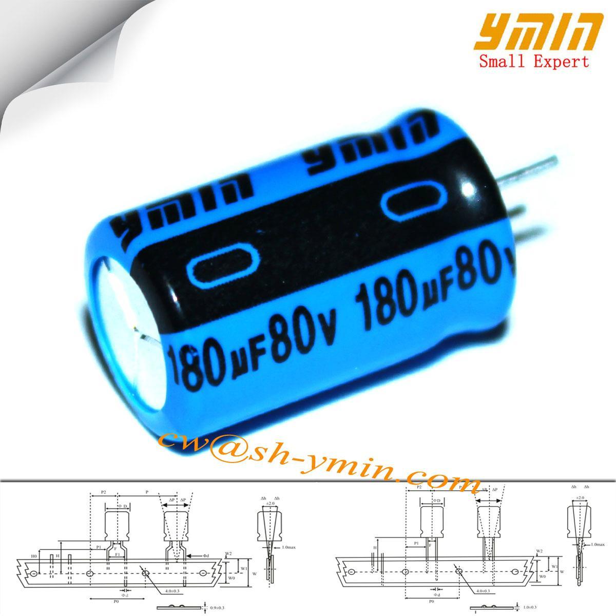 Offering aluminum electrolytic capacitor for general purpose Shanghai Yongming 1