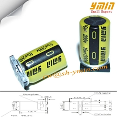 Sleeve SMD aluminum electrolytic capacitor for Power Supply best price