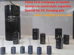 CN3 85℃ 3000hours snap-in aluminum electrolytic capacitor for charging point