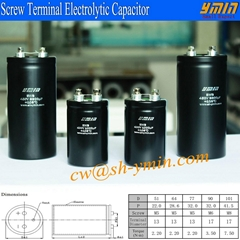 UPS Large Screw Terminal  Aluminum Electrolytic Capacitor high ripple current