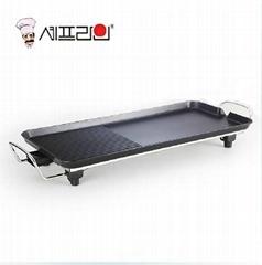 CHEFLINE 韓式電烤盤 無煙 不粘 家用商用炙烤爐