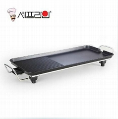 Luxury Koera Electric Pan for Buffet Party 68*28cm
