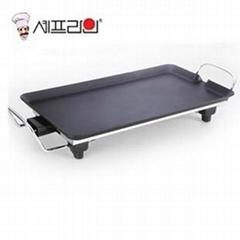 CHEFLINE 韓式電烤盤 無煙 不粘 家用