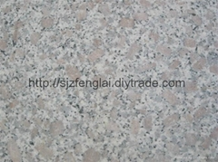 Three Coarse Grain Granite Tiles
