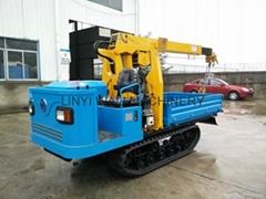 Crawler type truck dumper with crane WL-1500