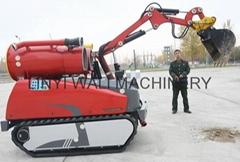 Multi-Task Firefighting pump Robot