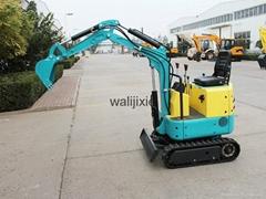 Mini crawler type excavator