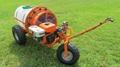 Mini wheel type gas engine air blast sprayer  WL-300A