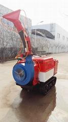 Mini remote control crawler type snail blower sprayer 3WF-500B