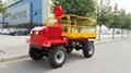 Wheel type self popelled type garden work platform  WL-160