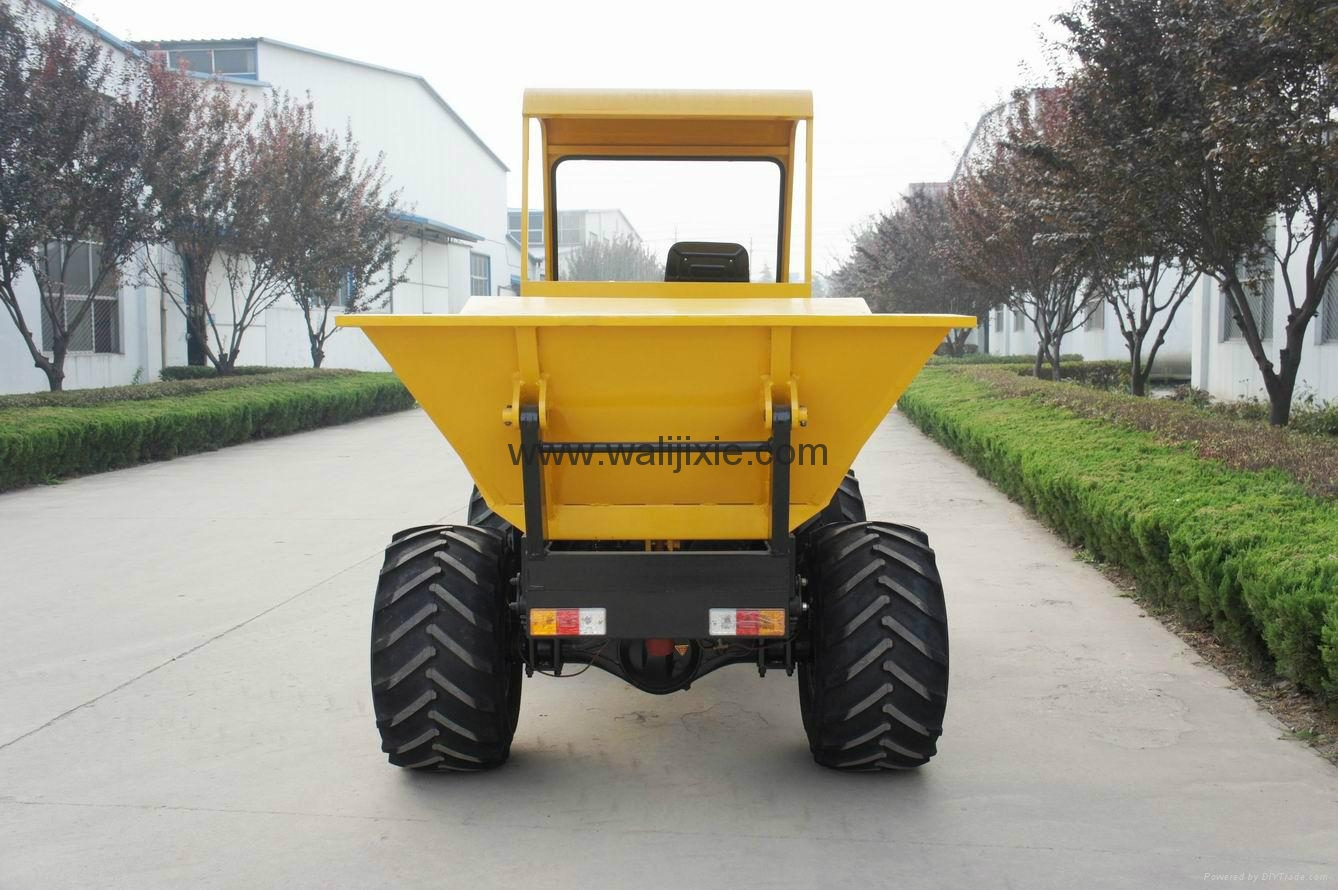 4WD wet land  wheel type dumper WL-2000W 4