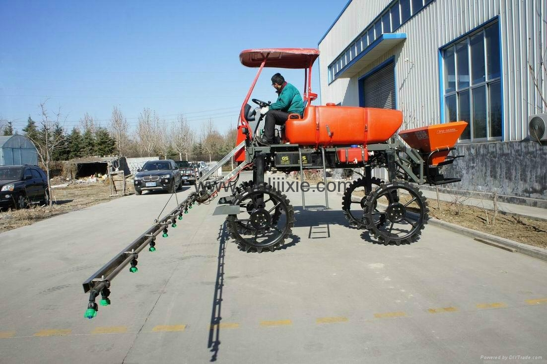 Agricultural Self propelled boom sprayer - 3WPZ-550A - WALI