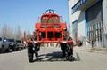 Self propelled diesel engine boom sprayer