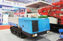 Crawler type truck dumper with crane 	WL-2000L