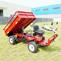 Garden diesel engine wheel transporter  WL-500-4A