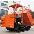 Agricultural hydrauilc drive crawler