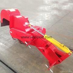 Agricultural single side ridger making machine