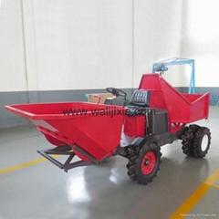 Agricultural garden wheel transporter