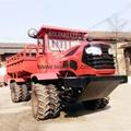 农用四驱折腰转向运输型拖拉机
