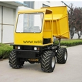 4WD wet land  wheel type dumper WL-2000W