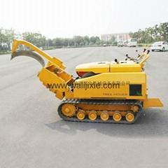 迷你履帶圓弧刀式移樹機/挖樹機 WL-500