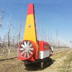 迷你乘骑履带自走前置式风送喷雾机  3WF-500C