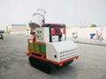 Mini crawler garden air blast power sprayer