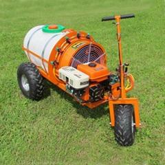 迷你轮式自走式果园风送喷雾机  WL-300B