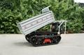 Mini Walk Behind garden Crawler Truck Dumper